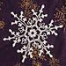 Third Red Mug Snowflake pattern