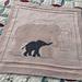 Bébé Babar blanket pattern