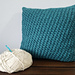 Cotton Candy Waves Pillow pattern