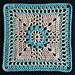 Desert Lily Block pattern