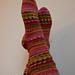 caterpillar sock pattern