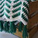 The Feathered Chevron Blanket pattern