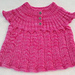 Lacy Baby Top pattern