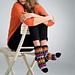 Treble Stripe Socks pattern
