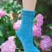 Feisty Socks pattern