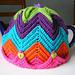 Easy Ripple Tea Cosy pattern
