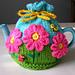Flower Garden Tea Cosy pattern