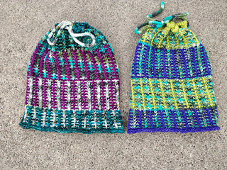 Option 1 (4 colors) Sample on Left, Option 2 (3 colors) Sample Right