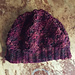 Slouch Shells Beanie with Ribbed Edge pattern