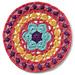 Rose Window Mandala pattern