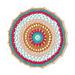 Fiesta Mandala pattern