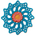 Floral Currents Mandala pattern
