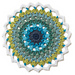 Sunflower Mandala pattern