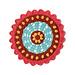 Candy Dishes Mandala pattern