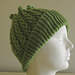 Mock-cable starfish hat (archived) pattern