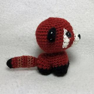 Rusty the Red Panda amigurumi pattern - Amigurumipatterns.net | 320x320