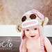 Sock Monkey Hat for Girls and Boys pattern