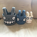 Totoro Nesting Baskets pattern