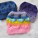 The Woven Hearts Bun Beanie pattern