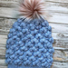 The Trident Puff Beanie pattern