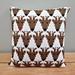 Reindeer Pillow pattern