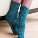Basic Ribbed Sock (Book Version) pattern