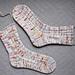 Dip in the Road Socks pattern