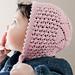 Star Baby Bonnet pattern