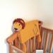 Noah's lion cot blanket pattern