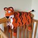 Noah's Tiger cot blanket pattern