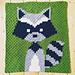 Racoon Baby Blanket pattern