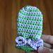 Spiral Baby Mittens pattern