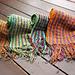 Dipping Seeds scarf knitting kit pattern