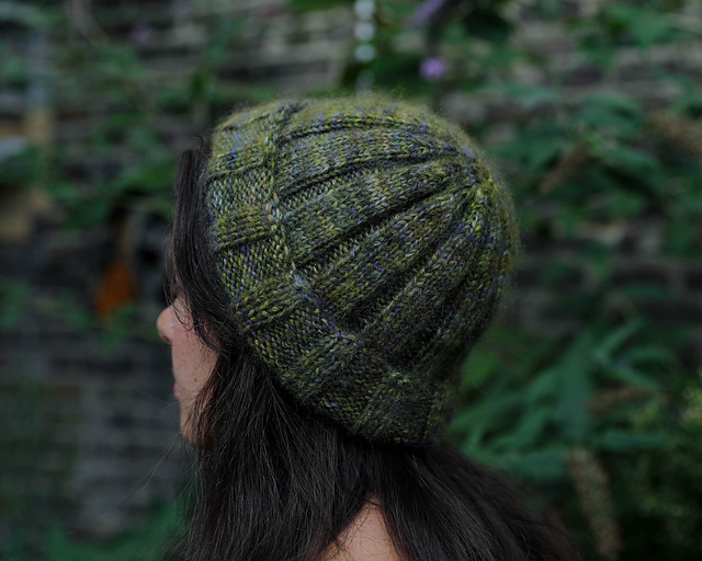 a knitted hat pattern i designed