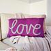 'love' Cushion pattern