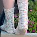 Secret Garden Socks pattern