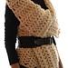 Magnum Reversible Vest/Wrap (crochet) pattern