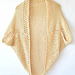 Mod Mesh Honey Blanket Sweater pattern