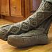 Handsome Men's Slipper Socks pattern