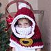 Santa Hooded Cowl pattern