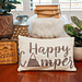 Happy Camper Knit Pillow Cover pattern