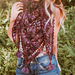 Picot Crochet Shawl pattern