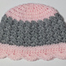 Sedge Stitch Baby Girl Beanie pattern
