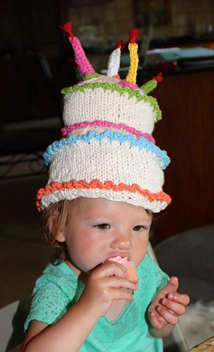 Prime Happy Birthday Cake Hat Pattern By Karen Gietzen Ravelry Funny Birthday Cards Online Inifofree Goldxyz