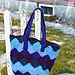 Crocheted Felted Entrelac Bag pattern