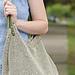 Crocheted Linen Market Bag pattern