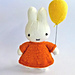 Miffy and her Balloon pattern