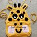 Giraffe Pocket Organiser pattern