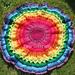 Mandala Maze blanket pattern