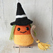 Halloween Witch Candy Corn Amigurumi pattern